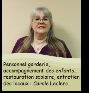 Photo Carole Leclerc