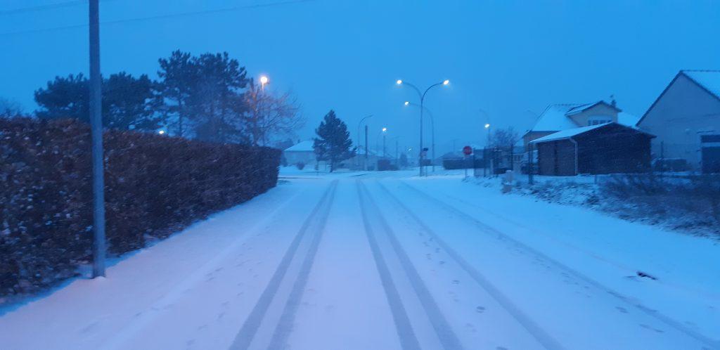 Compertrix sous la neige