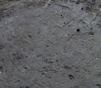 Cercle avec des diamètres marquant les points cardinaux